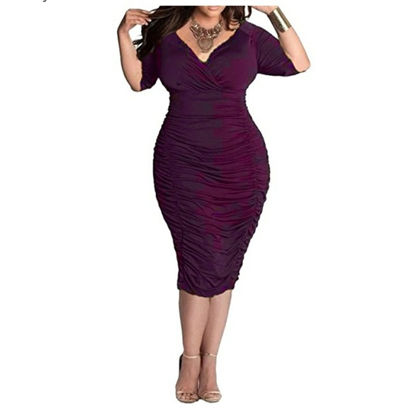 HP PHOEBE Plus Size Holiday Dress Boutique